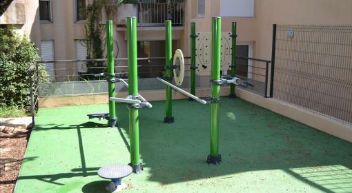 Modules permettant la conception de jardin thérapeutiques et parcours de santé en maison de retraite.
