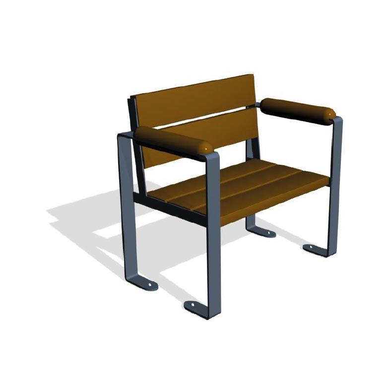 fauteuil banc pour jardin thérapeutique
