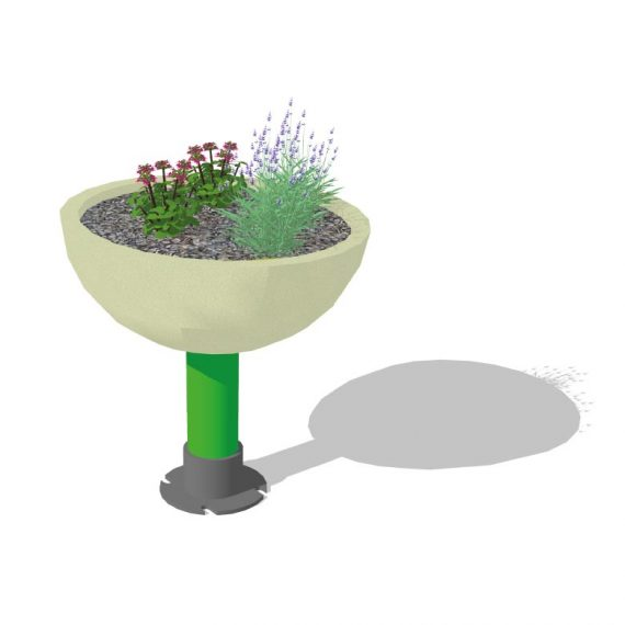 jardiniere EPDM 600