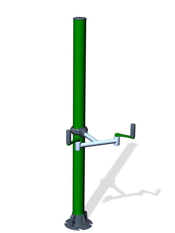SPK10. Manivelle axe vertical
