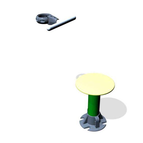 SPK13S. Assise rotative • Sans poteau