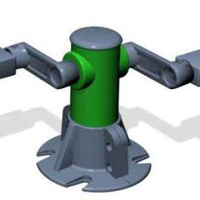 SPK16. Pédalier statique