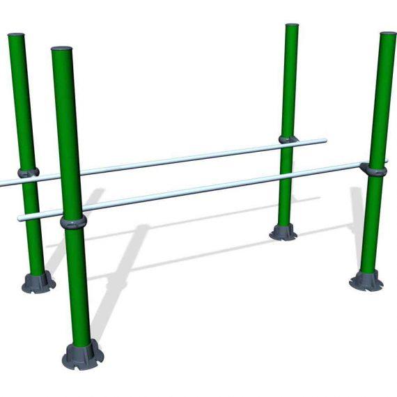 SPK17. Barres parallèles