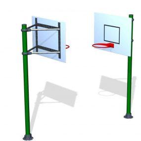 SPK21. Poteau de Basket