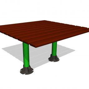 SPK208. Table de jardin